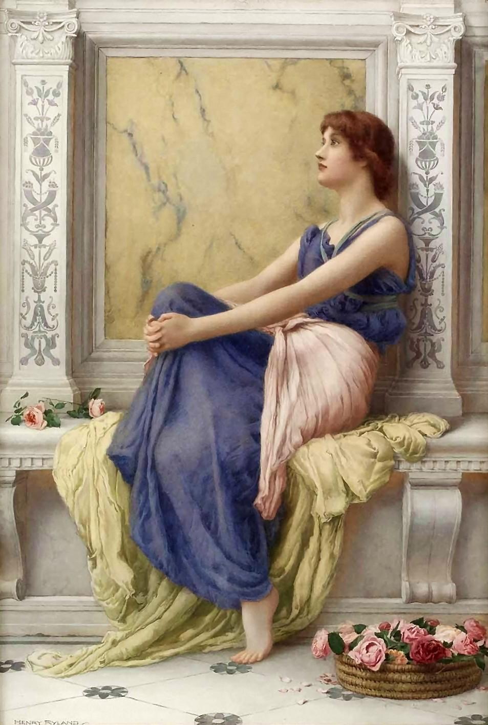 Henry Ryland - A Neo-Classical / Pre-Raphaelite British Painter