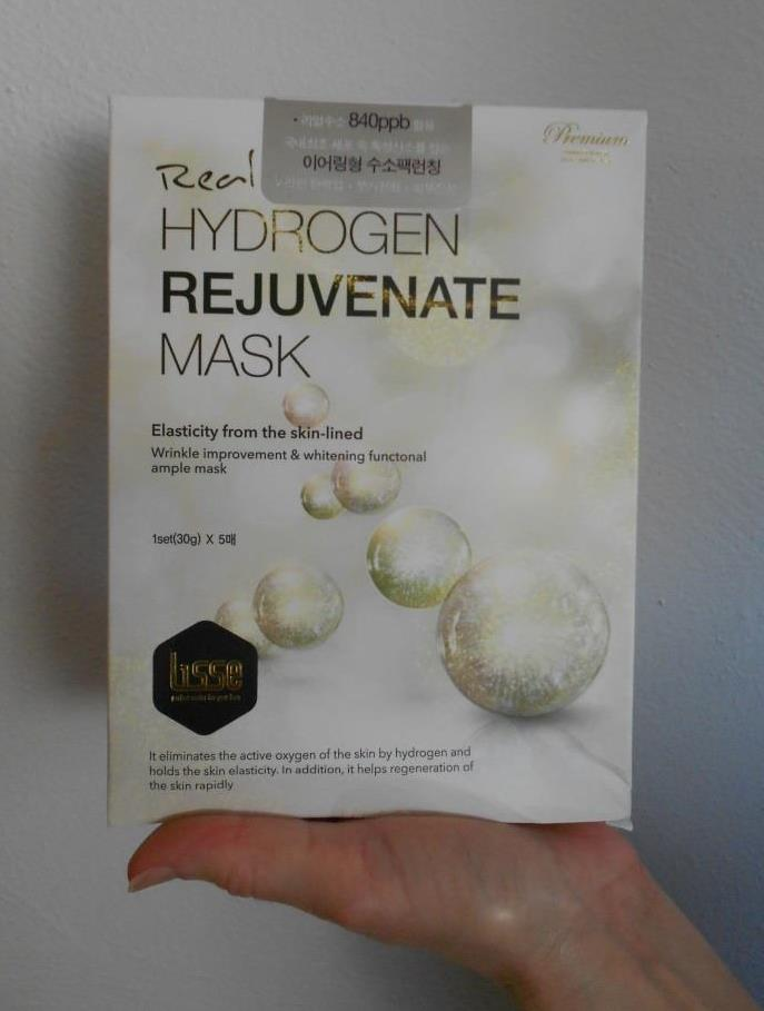 Lisse Real Hydrogen Mask box.