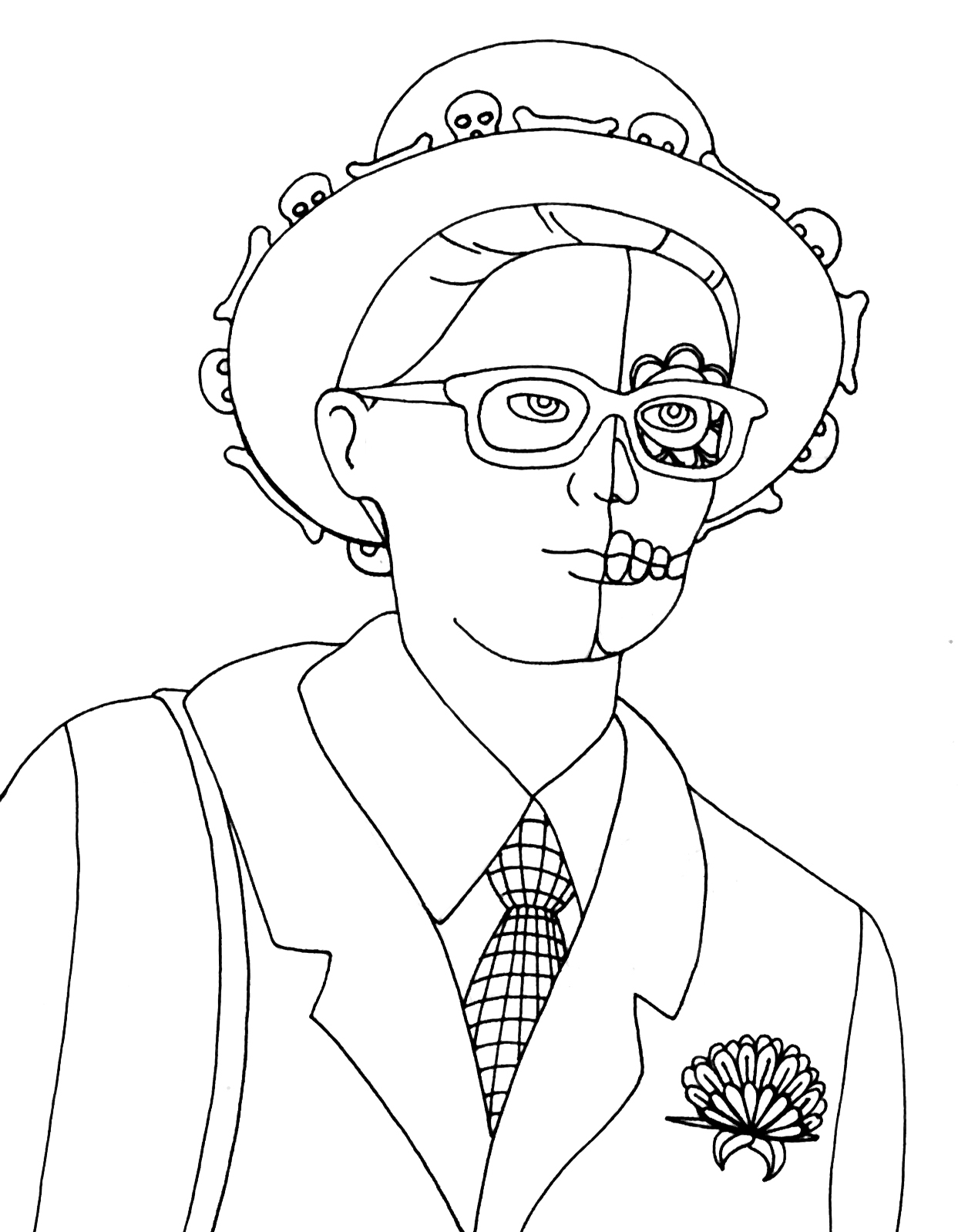 Yucca Flats, N.M.: Wenchkin's Coloring Pages - Parade