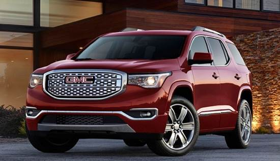 2018 GMC Acadia Redesign, Release, Price, Engine, Specs