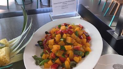 Salad Labu Saus madu dan Mustard