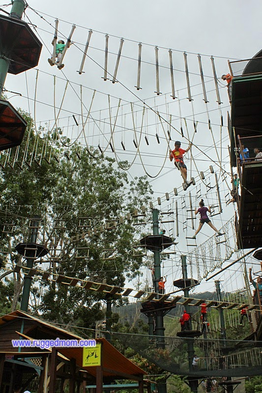 Mencabar diri di Escape Adventureplay Theme Park