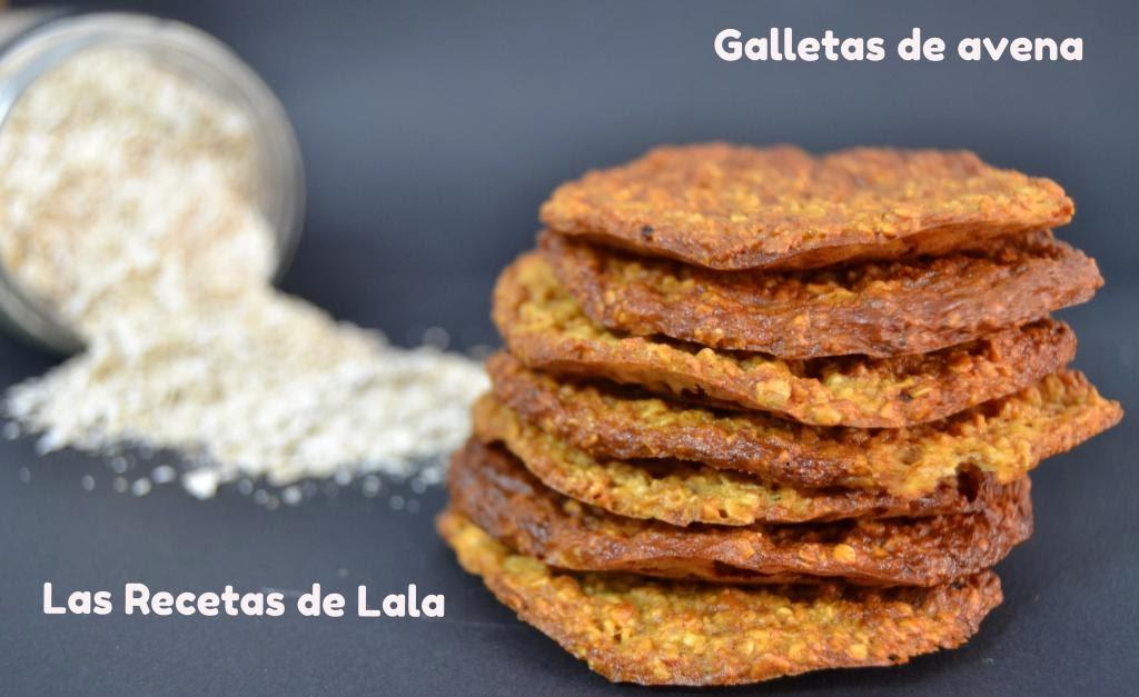 Las Recetas De Lala Galletas De Avena Sin Azúcar