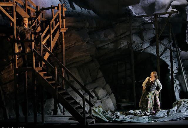 Catherine Foster (Brünnhilde), Stefan Vinke (Siegfried) - Wagner: Siegfried - Bayreuth Festival (©Bayreuther Festspiele / Enrico Nawrath)