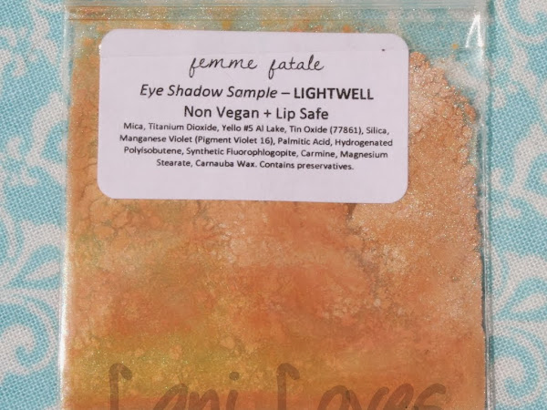 Femme Fatale Friday: Lightwell Eyeshadow Swatches & Review
