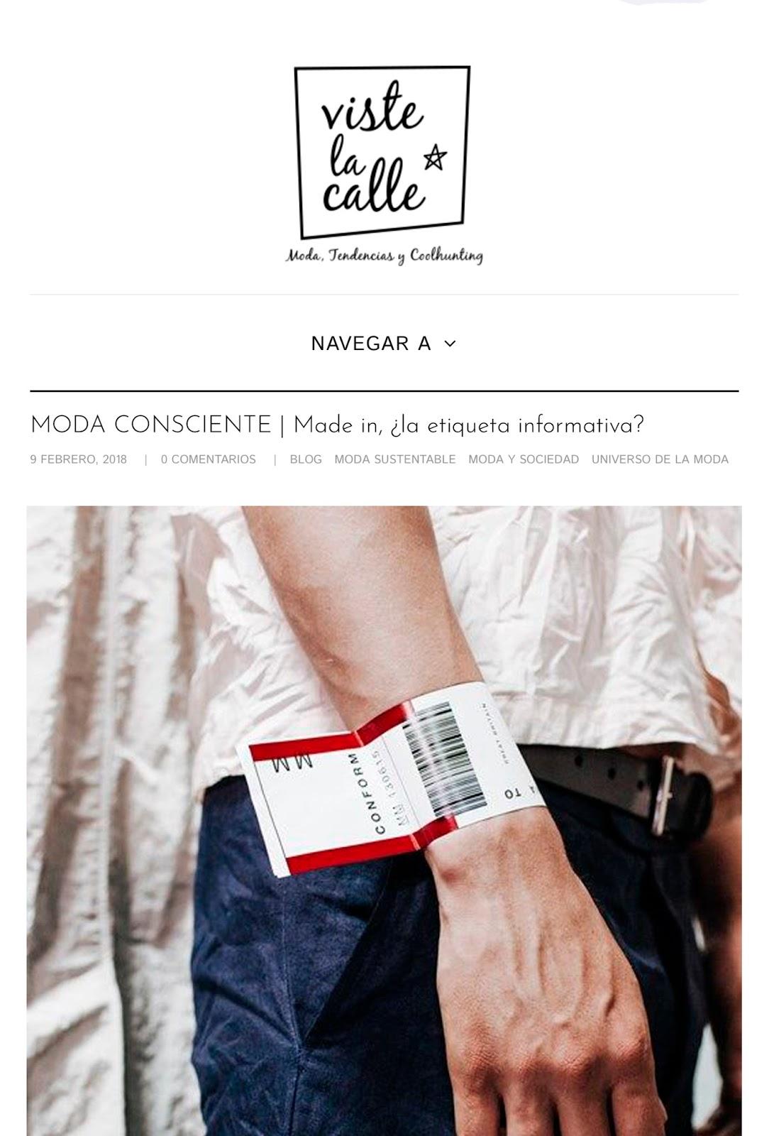 Moda Consciente en Chile - Pamela Victoria Columnista de Moda Cosnciente - Columnista de moda sustentable - Pamela Victoria columnista experta en Moda en Chile