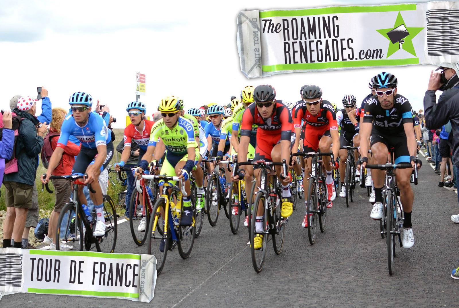 Le Tour De France Comes To My Village!!