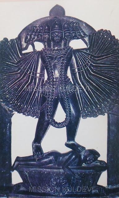 Ancient Idol of Sugali Mata