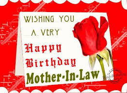Happy birthday wishes for mother-in-law: wishing you a very happy birthday mother in law