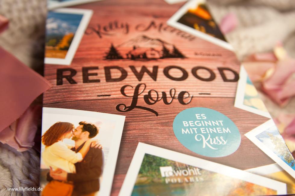 Redwood Love - Es beginnt mit einem Kuss von Kelly Moran - Buchvorstellung