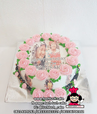 Birthday Cake Edible Image Untuk Ibu