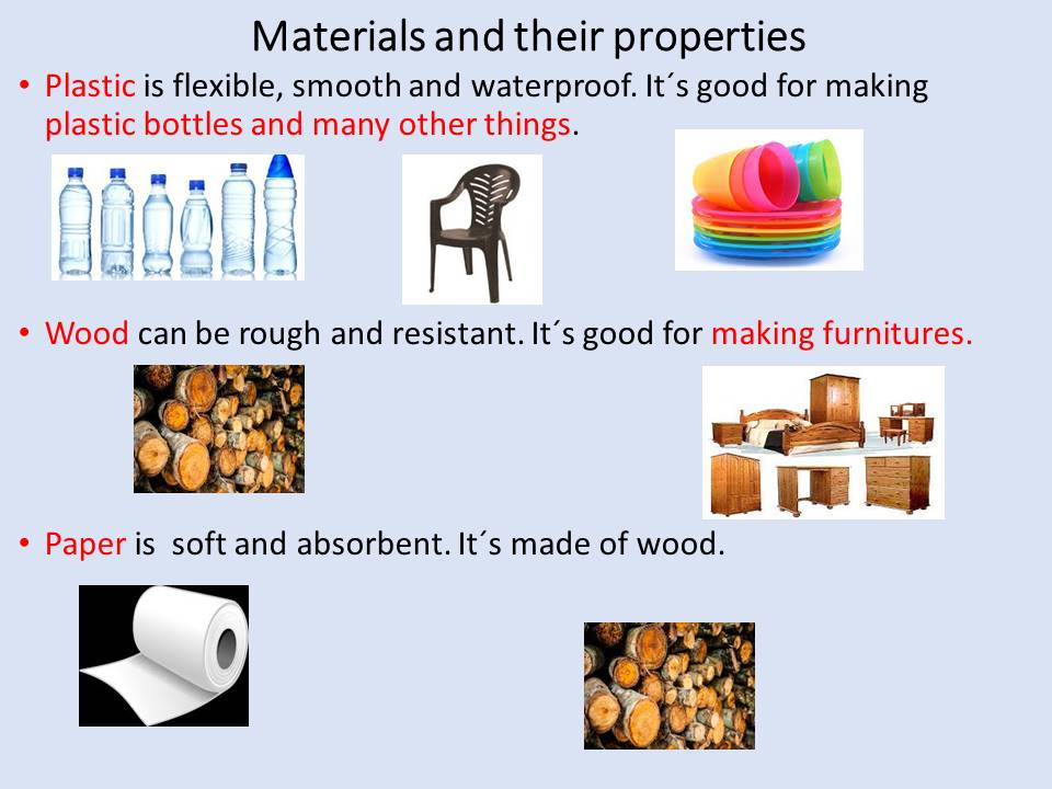 materials and their properties worksheets pdf