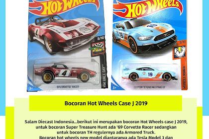 Bocoran Hot Wheels Case J 2019