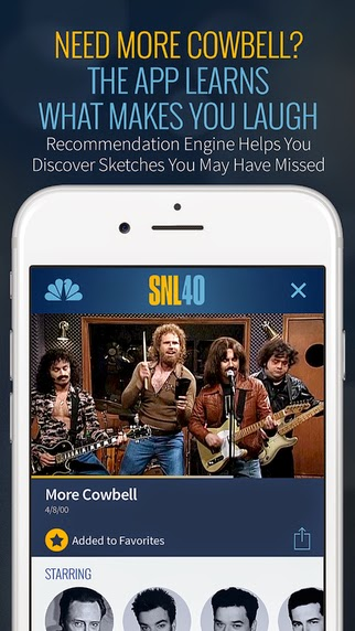 NBC launches SNL (Saturday Night Live) app for iPhone