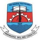 Federal Poly Ede HND Full Time Admission Free Form For 2018/19 Session