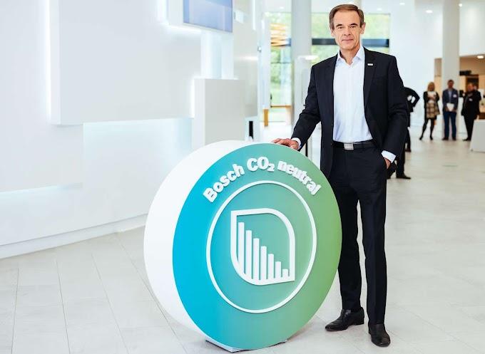 Bosch vai neutralizar suas emissões de CO2 até 2020
