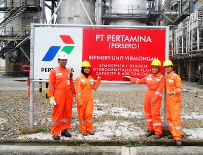 Lowongan Kerja BUMN Terbaru Jobs : BPS, Officer Custom, Officer Inventary PT Pertamina (Persero) Membutuhkan Tenaga Baru Besar-Besaran Penerimaan & Penempatan Seluruh Indonesia
