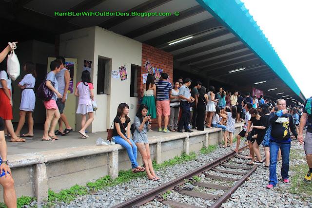 Platform, Tanjong Pagar Raiway Station, Singapore