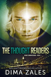 The Thought Readers - thrilling urban fantasy free book promotion Dima Zales