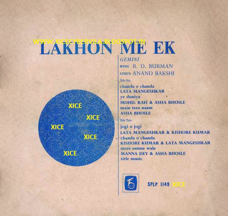 Mere Samne Wali Khidki Download: COLLEGE PROJECTS AND MUSIC JUNCTION: LAKHON ME EK (1971