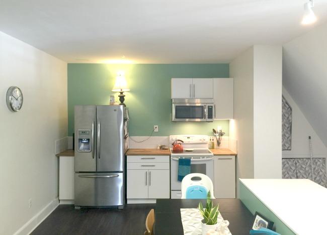 modern apartment kitchen renovaton