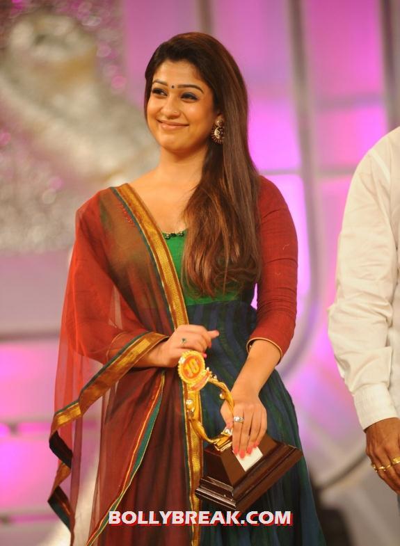 Nayanatara At 2012 - Traditional Outfit Hot Photos - 5 Pics