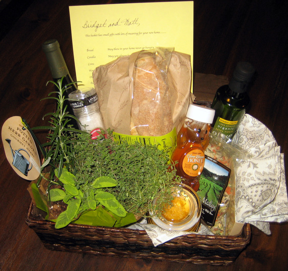 New Home Gifts Gift Baskets Gifts Com: Basket O' Blessings- A Perfect Gift For The New Homeowner