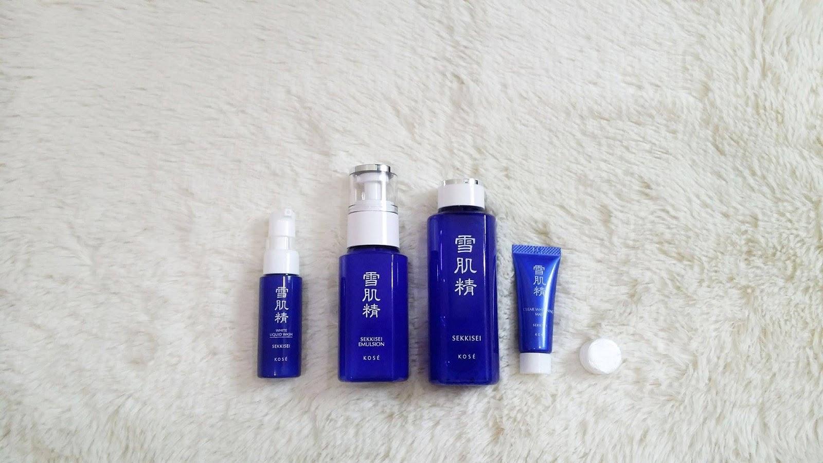 how to use kose sekkisei emulsion
