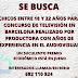 CASTING EN ESPAÑA: Se buscan chicos entre 18 y 22 años para concurso en BARCELONA