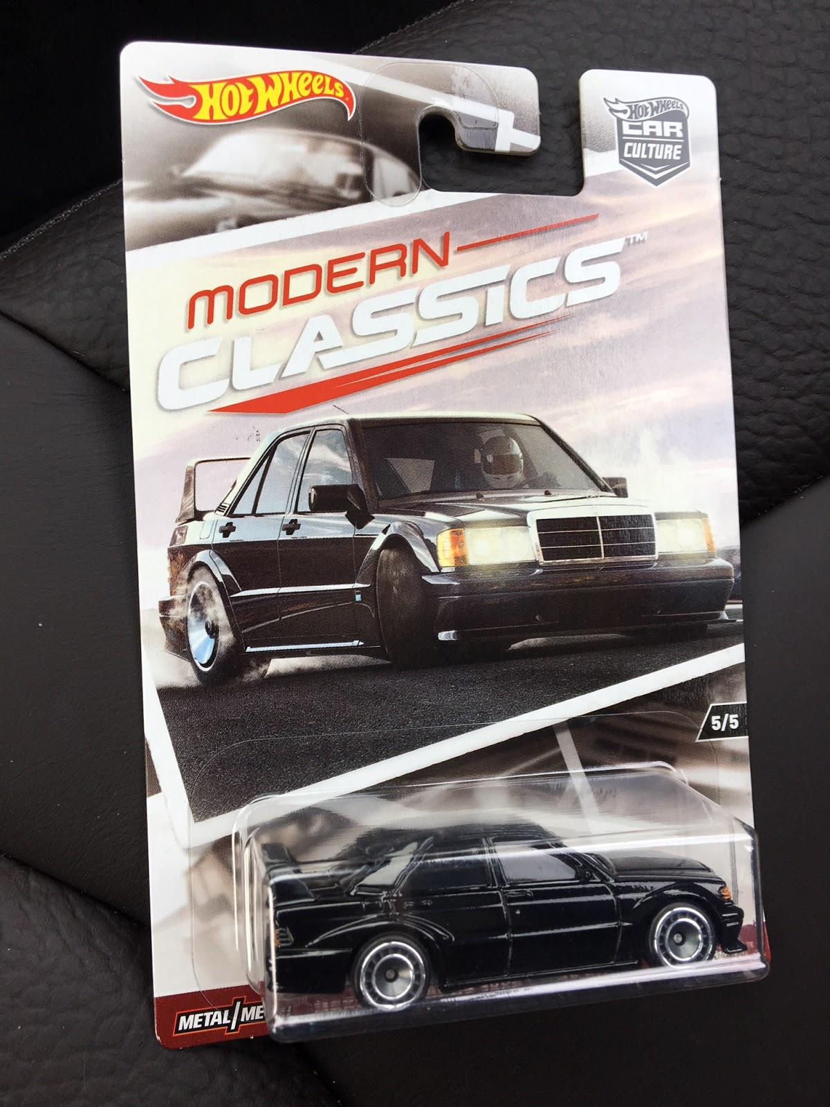 Tamerlane\'s Thoughts: Hot Wheels Modern Classics Mercedes 190E 2.5 ...