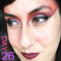 80s New Wave Makeup :: 31 Days of Liquid Eyeliner
