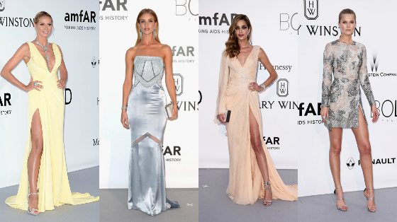 Looks do amfAR Gala em Cannes