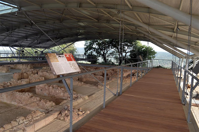 Palace of Nestor in the Peloponnese reopens after three years of restoration
