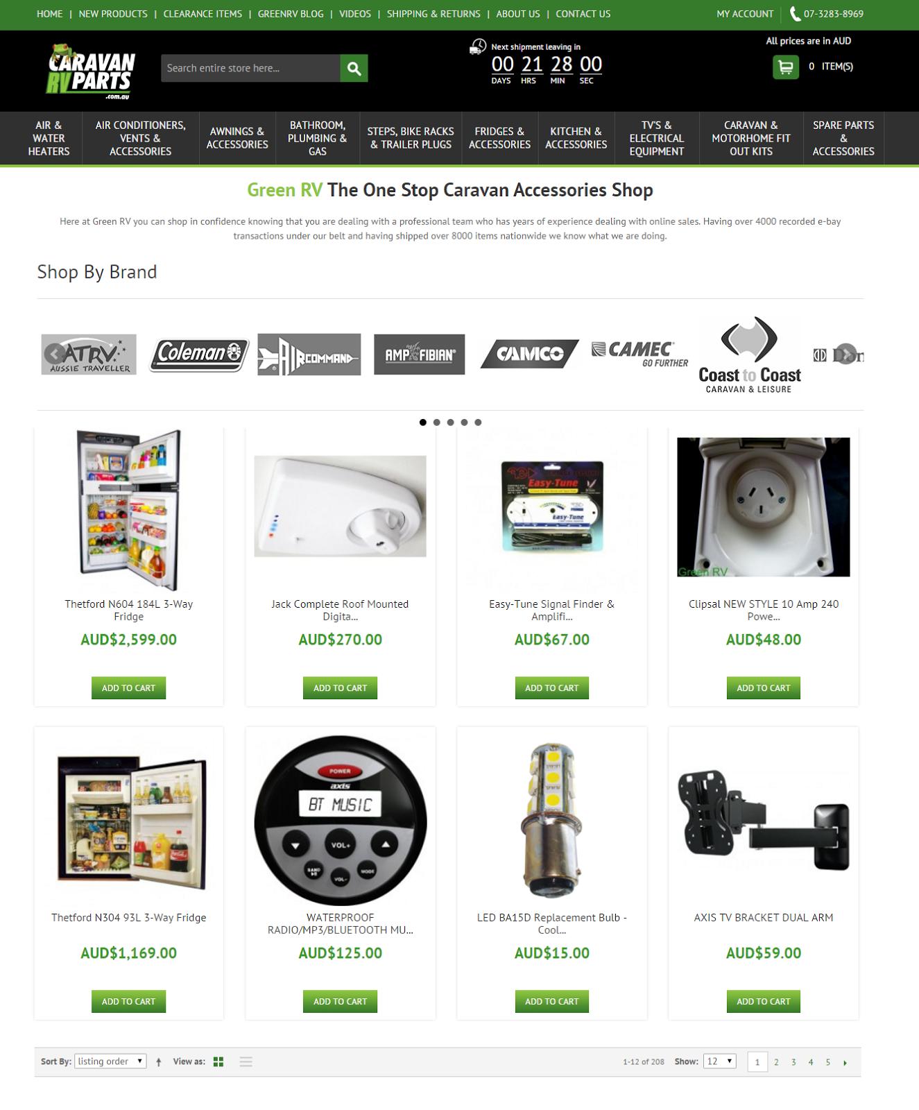 Caravan RV Parts Store