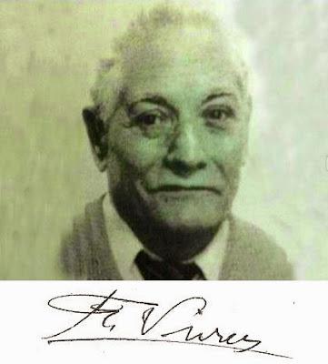 Firma y foto de Francesc Vivas i Font