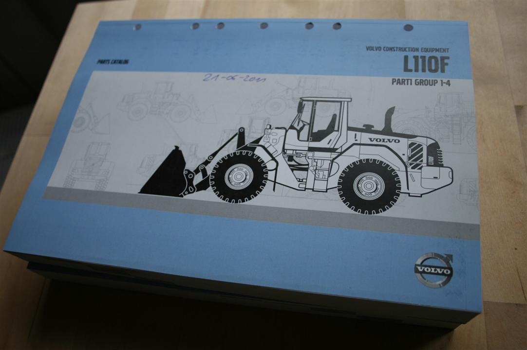 Volvo L110F Wheel Loader parts book for sale | Parts