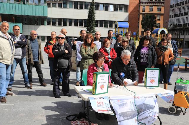 entrega de firmas contra la VSF