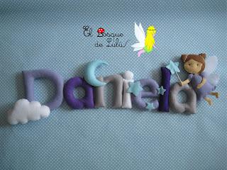 nombre-fieltro-Daniela-name-banner-girnalda-felt-feltro-babaroom-decoración-infantil-regalo-personalizado