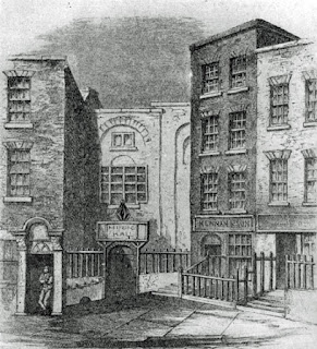 The Great Music Hall in Fishamble Street, Dublin, where Messiah was first performed