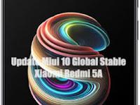 Update Xiaomi Redmi 5A Ke Miui 10 Global Stable Rom