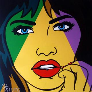 Колумбийский художник. Bruno Angel