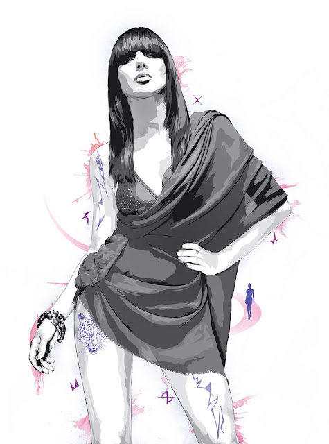 Simeon Elson - Fashion, sports, music illustration