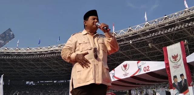 Kampanye Akbar Membludak, Prabowo-Sandi Bisa Salip Jokowi-Maruf