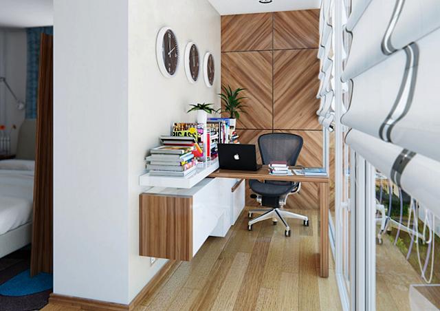 11 Desain Model Meja Kerja Minimalis Untuk Rumah dan Kantor Berukuran Kecil yang nyaman