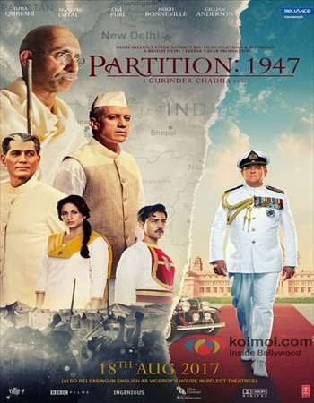 Watch Online Bollywood Movie Partition 1947 2017 300MB DVDRip 480P Full Hindi Film Free Download At WorldFree4u.Com