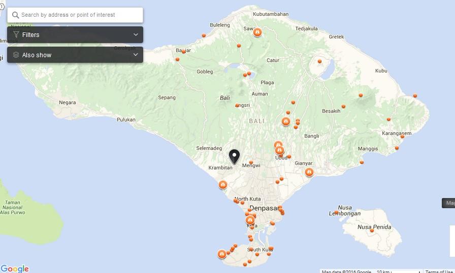 Lake Beratan Bali Map Things To Do In Bali Island Bali