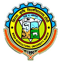 BAU Ranchi Recruitment 2017