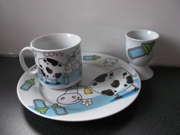 zestaw porcelany dla dziecka