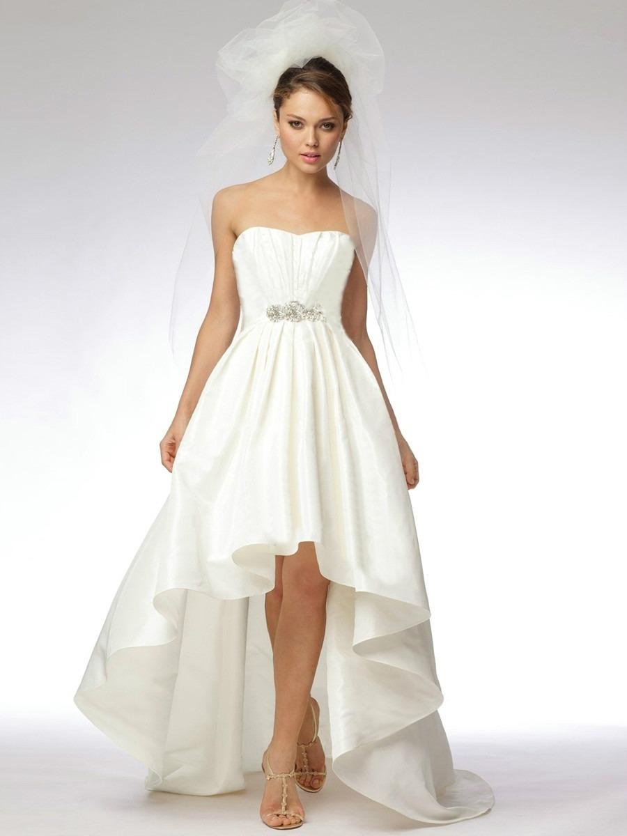 Vestidos de novia por el civil para embarazadas