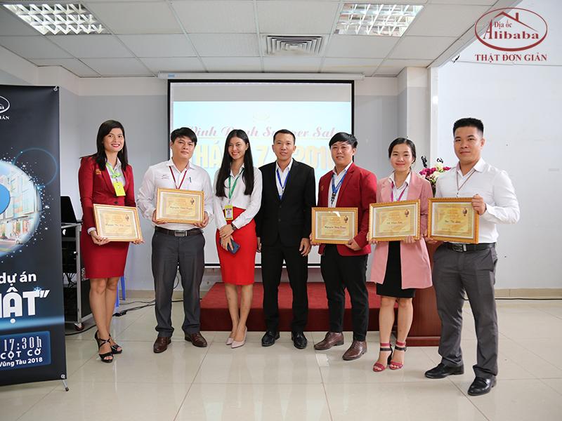 Địa ốc Alibaba vinh danh 7 Super Sale Tháng 7/2018